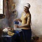 Soymilkmaid by Emmi Mustonen