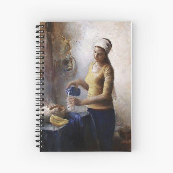 Soymilkmaid Spiral Notebook