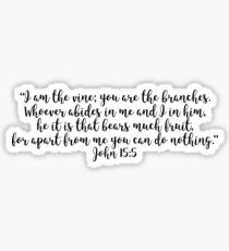 John 15:5 Sticker