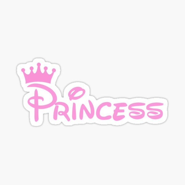 Pink Princess Sticker
