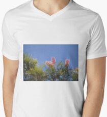Pinjarra Grevillea Men's V-Neck T-Shirt