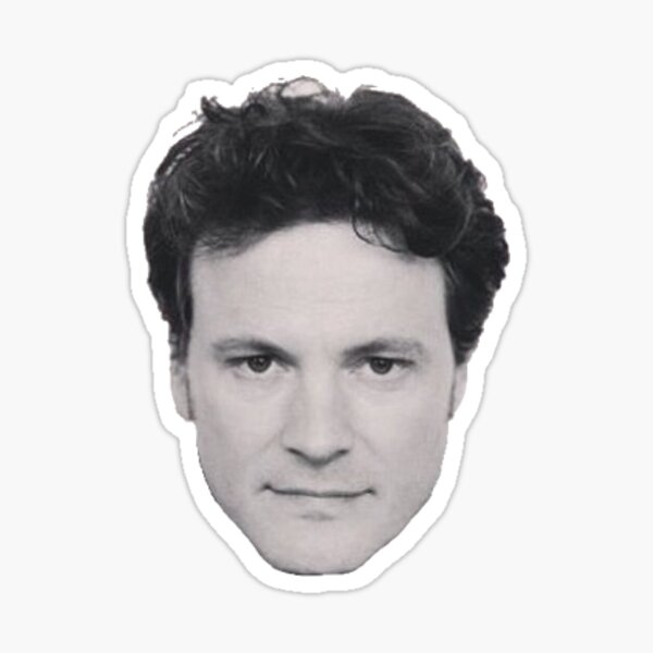 Colin Firth Sticker