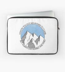 Funda para portátil Siempre quédate en las montañas humildes y amables