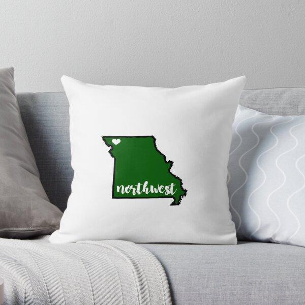 Northwest MO State Throw Pillow