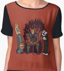 Game of Conspiracy Women's Chiffon Top