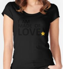 I am made of Love Women's Fitted Scoop T-Shirt