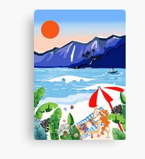 Beach Holiday Canvas Print