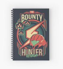 The Bounty Hunter Returns Spiral Notebook