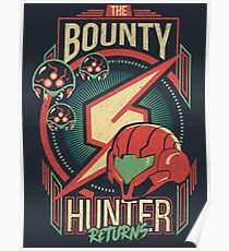 The Bounty Hunter Returns Poster