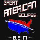 Vintage RWB Great American Eclipse by EthosWear