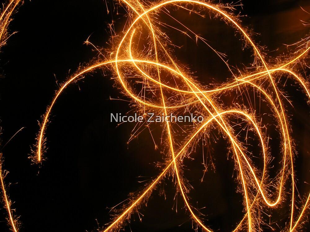 New Years 2008 by Nicole Zaichenko