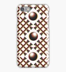 Garnet and Gold Golf iPhone Case/Skin