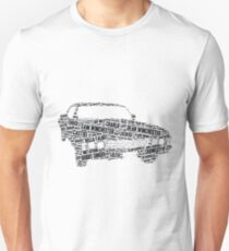 Supernatural Impala word art T-Shirt