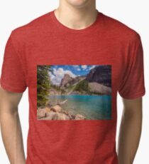 Moraine Lake Afternoon III Tri-blend T-Shirt