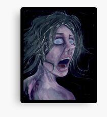 MAD ANXIETY Canvas Print