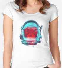 Space Monkey Women's Fitted Scoop T-Shirt