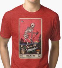 Tarot card death Tri-blend T-Shirt