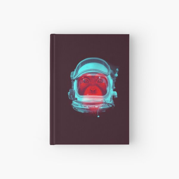 Space Monkey Hardcover Journal