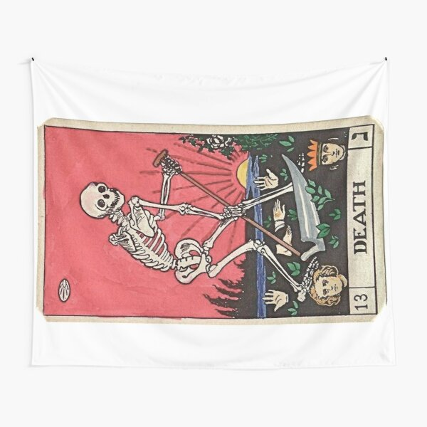 Tarot card death Tapestry