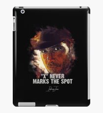 X Never Marks The Spot - INDIANA JONES iPad Case/Skin