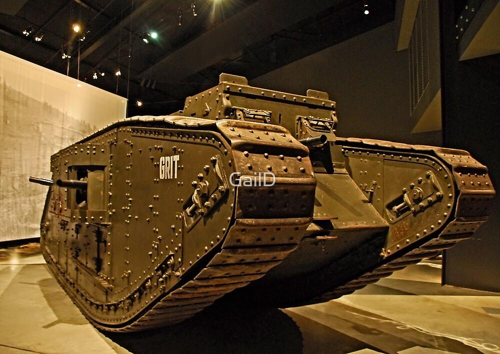 Tank - War Memorial  - Canberra by GailD