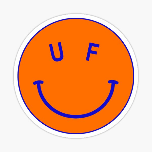 UF Happy Sticker