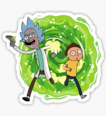 Portal Gun - Rick and Morty  Sticker