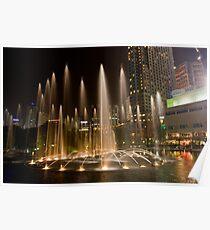 KLCC Suria Fountain Poster