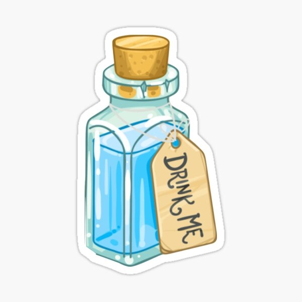 Drink Me Potion Sticker