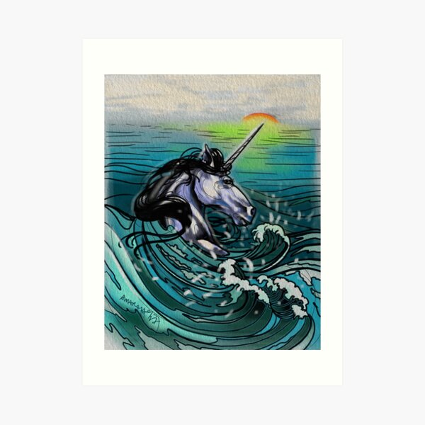 You don't know much about unicorns. Art Print