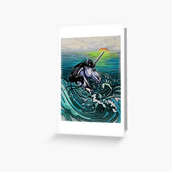 You don't know much about unicorns. Greeting Card