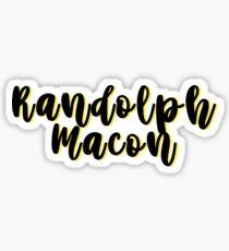Randolph Macon Sticker