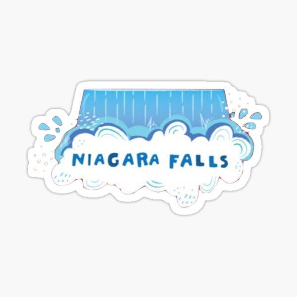 Niagara Falls 2 Sticker