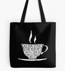 Spike's Cuppa Tea Tote Bag