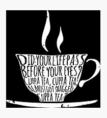 Spike's Cuppa Tea Photographic Print