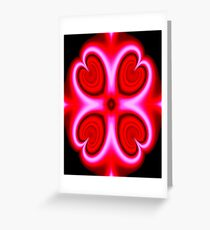 Love glows Greeting Card