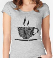 Spike's Cuppa Tea Women's Fitted Scoop T-Shirt