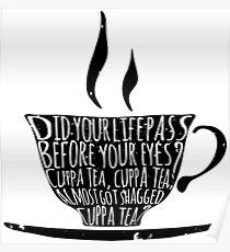Spike's Cuppa Tea Poster