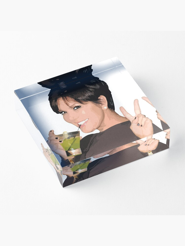 Alternate view of Kris Jenner Acrylic Block