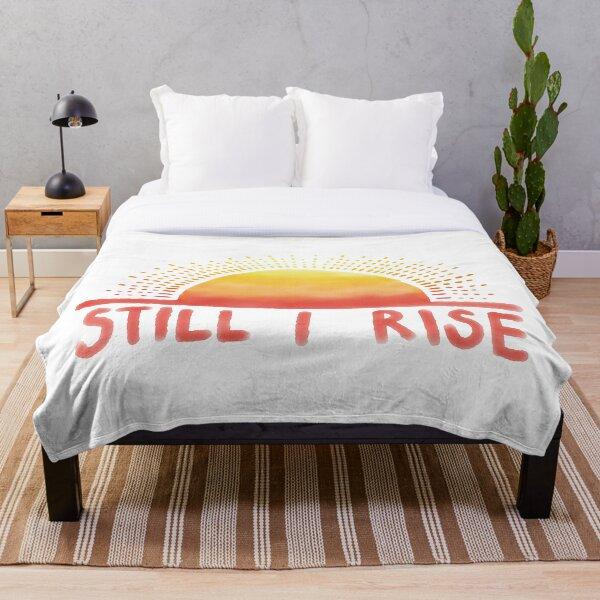 Still I Rise Sunrise Throw Blanket