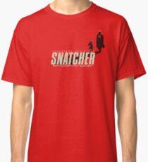 SNATCHER - CYBERPUNK SHADOWS v1 - Red Classic T-Shirt