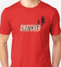 SNATCHER - CYBERPUNK SHADOWS v1 - Red T-Shirt