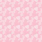 Swirls in Pink and White by Joanne Rawson