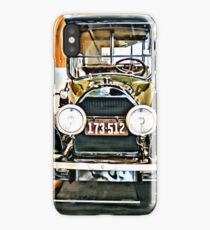 1918 Cadillac Limo With No State Name iPhone Case/Skin