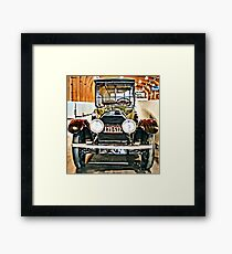 1918 Cadillac Limo With No State Name Framed Print
