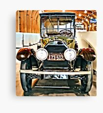 1918 Cadillac Limo With No State Name Canvas Print