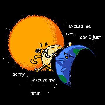 Excuse Me Total Solar Eclipse 21 de agosto de 2017 de vomaria