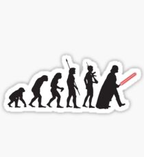 Pop Art - Star Wars Evolution Sticker