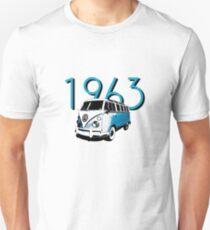 1963 23 Window Bus T-Shirt