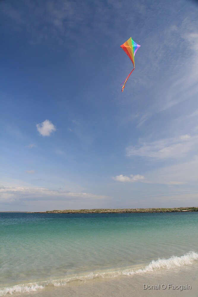 Kite at sea by Donal Faogain